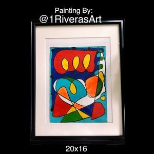 Abstract Hand Paintied Oil Painting